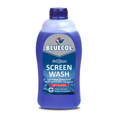 Bluecol Screenwash sub zero 1L