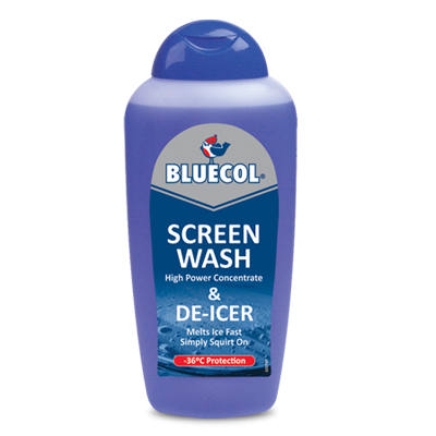 Squeezy screenw deicer