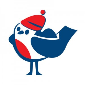 Bluecol Robin logo