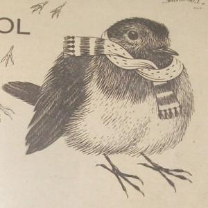 1958 Bluecol Robin Logo